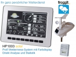 Profi Wetterstation HP1003 SE (Second Edition 2017)Farbdisplay und Wettermast