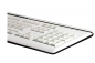 Preview: Fujitsu Siemens Multimedia SlimLine Tastatur Deutsch/Türkisch - weiß