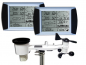 Mobile Preview: WH1080 SE TWIN (2 Displays) Funk Wetterstation Solar Touchscreen USB (Neuer Außenmast)