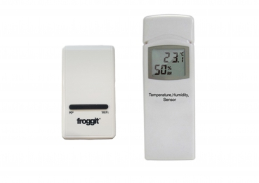 DP1500 Wi-Fi Wetterserver USB-Dongle inkl. 1 x DP50 Thermo-Hygrometer Funksensor