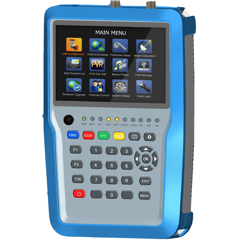 Froggit Wetterstationen und Satfinder - Combo 9000 DVB-S DVB-S2 DVB ...