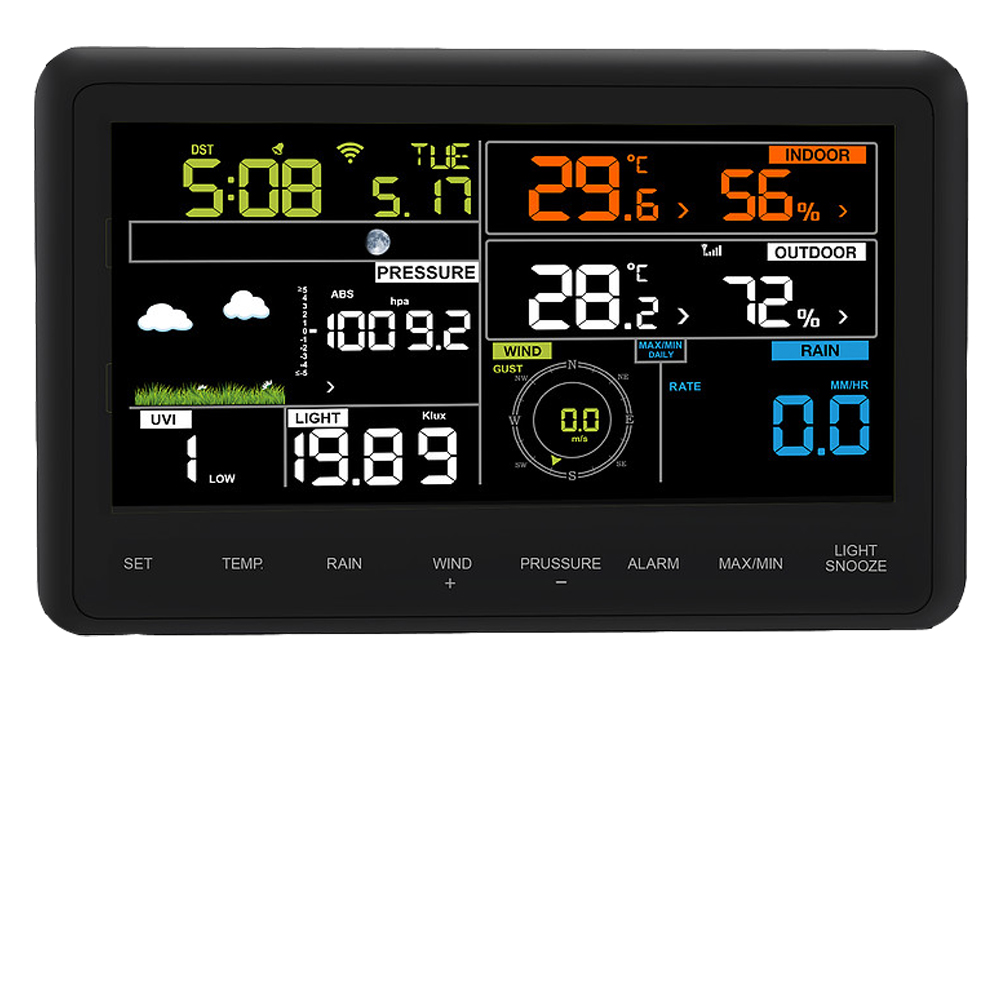 Froggit wh4000 se WiFi Internet Radio-Station météo App Wunderground logiciel PC