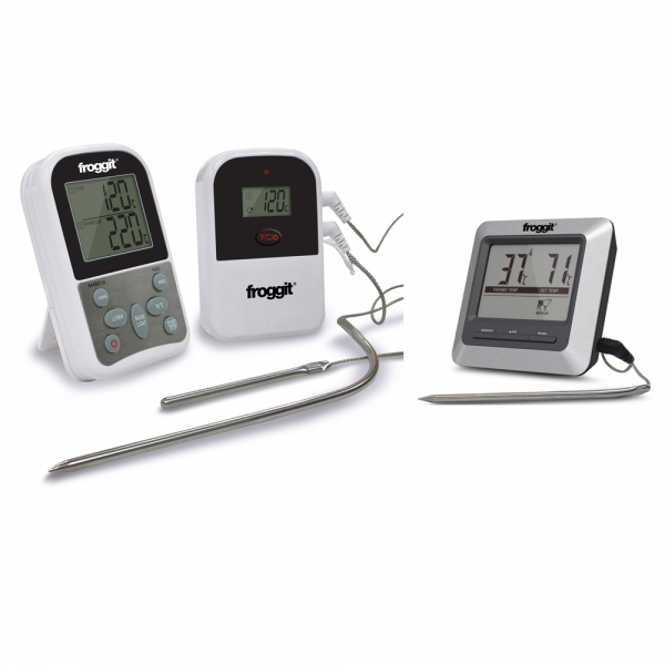 SmokeMax BBQ Set 4 - SmokeMax TWO BBQ Funkthermometer + SmokeMax BASIC